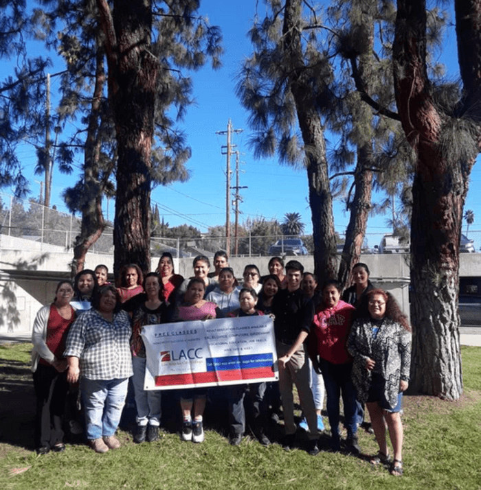 ESL Classes in Session Now in Partnership with LACC
